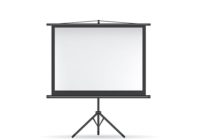 Projector screen black