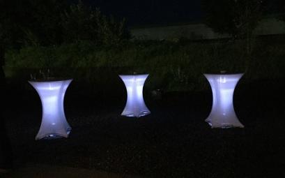 Stehtisch Beleuchtung