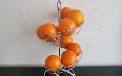 Orangenspirale