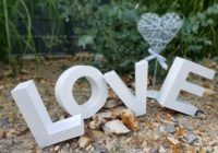 Buchstaben Love